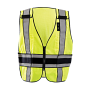 OccuNomix DOR Deluxe Safety Plain Vest LUX-DPS-DOR Class 2