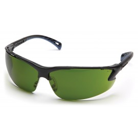 Pyramex Safety - Venture 3 - Black Frame/3.0 IR Filter Anti-Fog Lens Polycarbonate Safety Glasses - 12 / BX