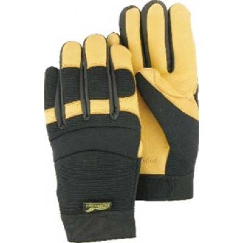 Majestic Golden Eagle Mechanics Glove-Deerskin 12 Pairs
