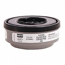 Honeywell N75002L North N series, Acid Gases Cartridge 18/Case