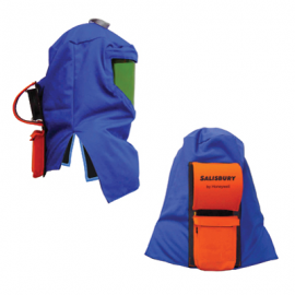 Salisbury By Honeywell Arc Flash 12 Cal hood with Air system Air Flow Hood System Size One Size - 1 /EA