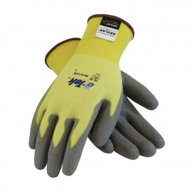 PIP 09-K1250/XS G-Tek Seamless Knit Kevlar® / Lycra Glove with Polyurethane Coated Smooth Grip on Palm & Fingers XS 12 DZ