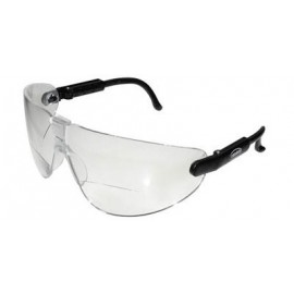 3M™ Lexa™ Reader Protective Eyewear 13353-00000-20 Clr Anti-Fog Lens, Black Temple, Medium, +1.5 Diopt