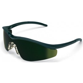 MCR Triwear Safety Glasses with Onyx Frame and Green 5.0 IR Lens