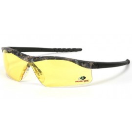 MCR Dallas Safety Glasses Amber Lens 1/DZ