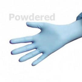 Ansell Microflex N24 Disposable Nitrile Powdered Gloves 10 Boxes/Case