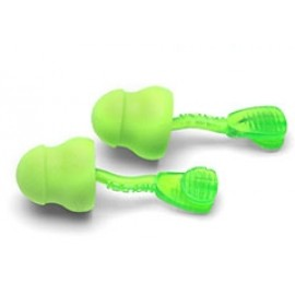 Moldex 6945 Glide Twist In Foam Earplugs Corded 24dB 400 Pair/Case