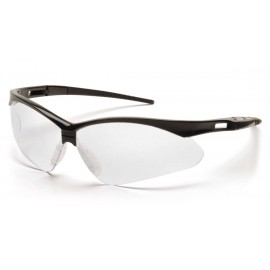 Pyramex  PMXTREME  Black Frame/Clear Lens with Black Cord  Safety Glasses  12/BX