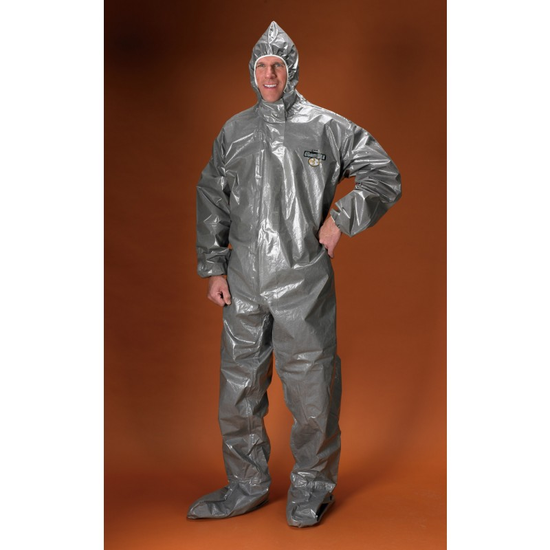 ChemMax 3 Coverall - Attached Hood & Boots-S