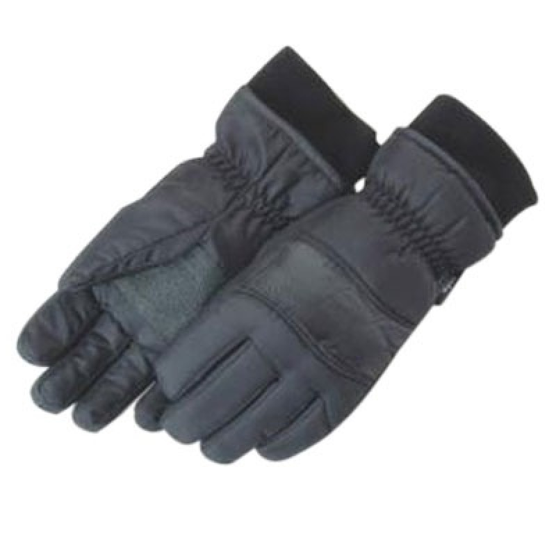 Majestic Black Ski Gloves