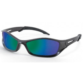 MCR Tribal Safety Sunglasses  Emerald Mirror Lens 1/DZ