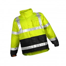 Tingley Icon Rain Jacket-2XL-Hi Viz Yellow