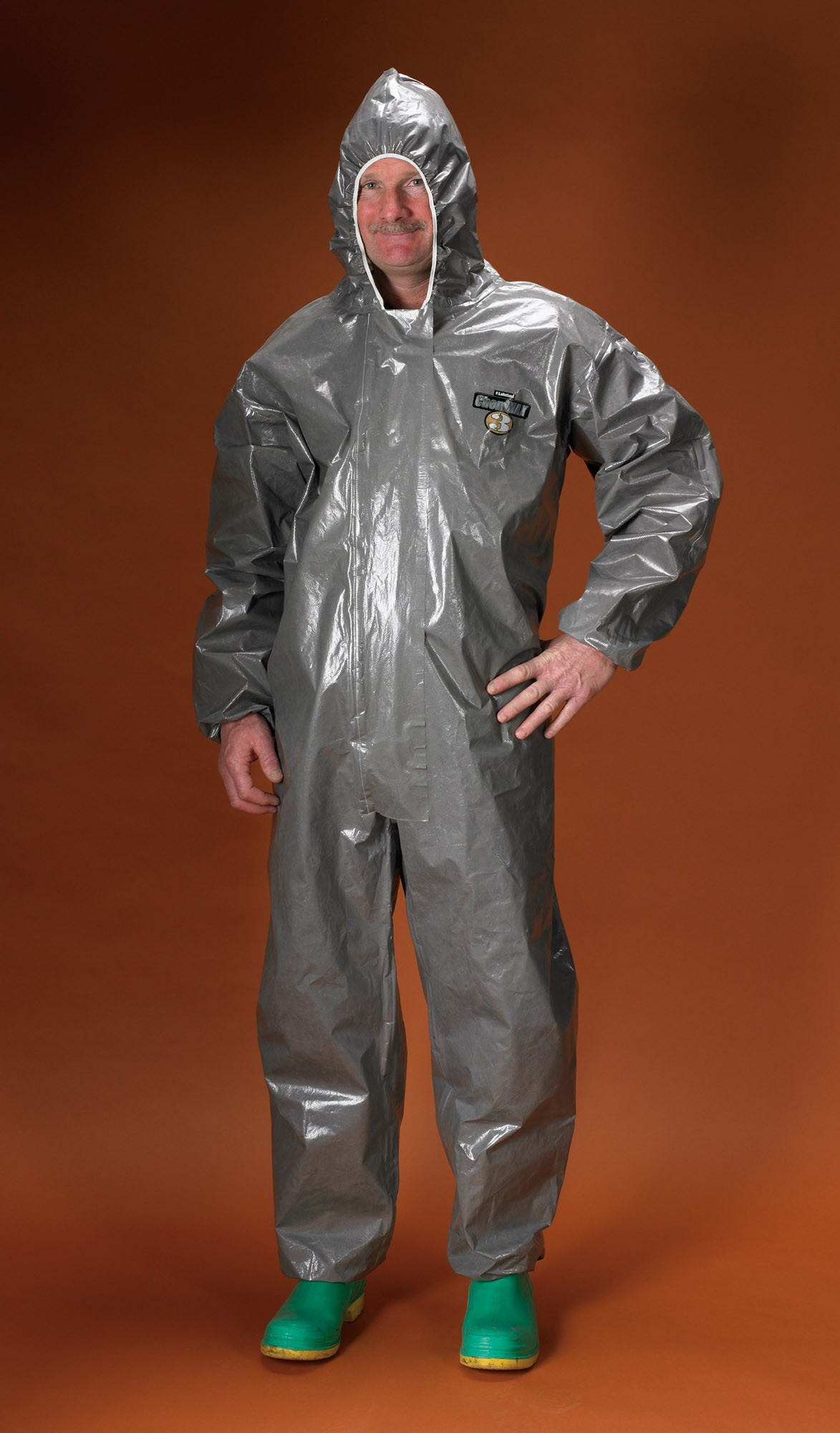 Chemmax 3 Coverall With Hood Lakeland C3t130