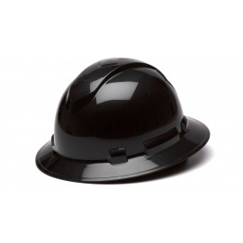 Pyramex HP54111 Ridgeline Hard Hat Black Color - 12 / CS