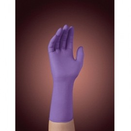 Kimberly Clark Purple Nitrile Extended Cuff Gloves