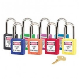 Masterlock Xenoy 410 Safety Padlock Assortment Pack - Keyed Different