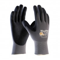 PIP ATG 34-874 MaxiFlex Ultimate Gloves - Seamless Knit Nylon/Lycra with Nitrile Coated Micro-Foam Grip on Palm & Fingers (1 DZ)