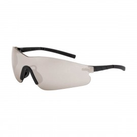 Radians Blade Silver Mirror Black Safety Glasses 12 PR/Box