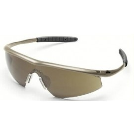 Tremor Safety Glasses with Taupe Frame and 1244 Lens