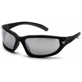 Venture Gear  Ocoee  Black Frame/Silver Mirror AntiFog Lens IN POLYBAG  Safety Glasses  1 / EA