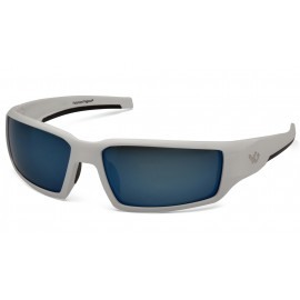 Venture Gear Pagosa White frame/Ice blue polarized Lens Safety Glasses 1 / EA
