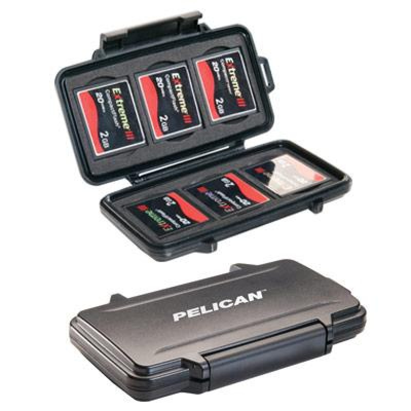 Pelican 0945 Compact Flash Case | Pelican Memory Card Cases | Enviro Safety Products, envirosafetyproducts
