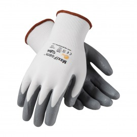 PIP 34-800V/M ATG Seamless Knit Nylon Glove with Nitrile Coated Foam Grip on Palm & Fingers Vend Ready Medium 144 PR