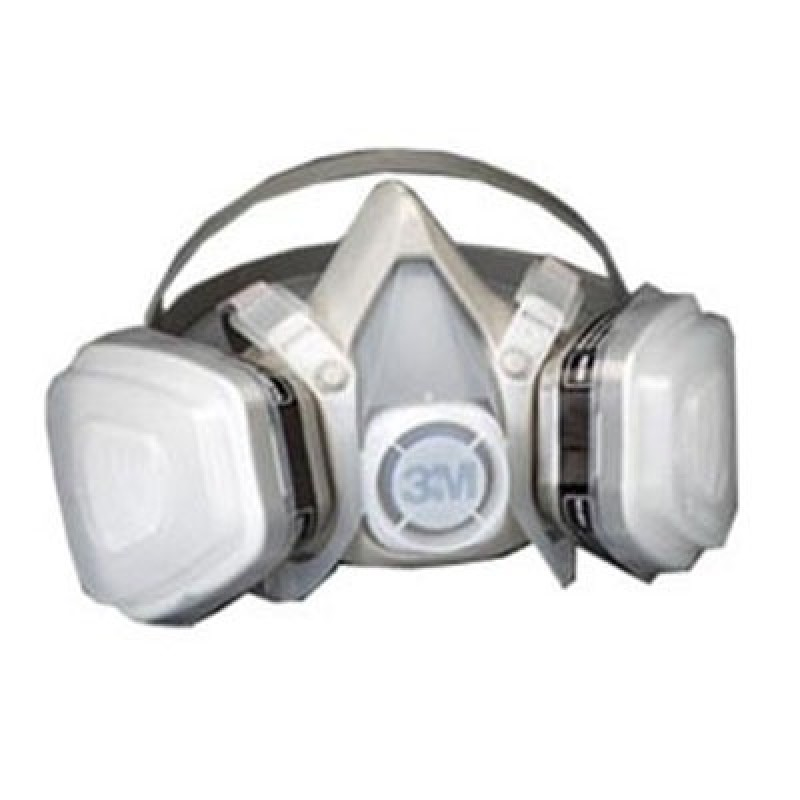 3M™ Half Facepiece Disposable Respirator Assembly 52P71, Organic Vapor/P95, Medium