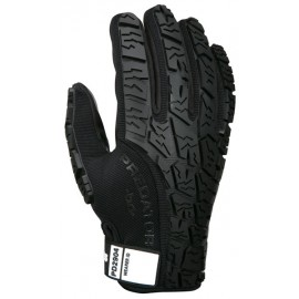 MCR Safety Predator Gloves Black Synthetic  - 1 Dozen