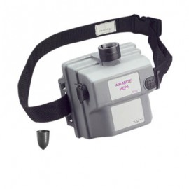 3M Air-Mate Belt-Mounted High Efficiency Powered Air Purifying Respirator (PAPR) Assembly - 231-01-30
