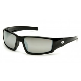Venture Gear  Pagosa  Black Frame/Silver Mirror AntiFog Lens  Safety Glasses  1 / EA