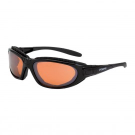 Radians Journey Man HD Copper AntiFog Black Safety Glasses 12 PR/Box