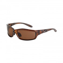 Radians Infinity HD Brown Polarized Brown Frame Safety Glasses 12 PR/Box