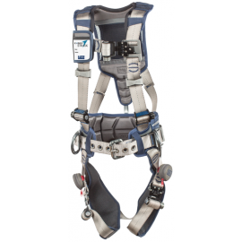 3M™ DBI-SALA® ExoFit STRATA™ Construction Style Positioning Harness 1112536, Grey, Blue, Medium