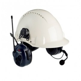 3M™ PELTOR™ Lite Com BRS Two Way Radio Headset, MT53H7P3E4600-NA, Hard Hat Model
