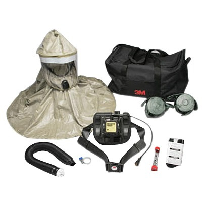3M™ Hood Powered Air Purifying Respirator (PAPR) System RBE-L10, with Lithium Battery