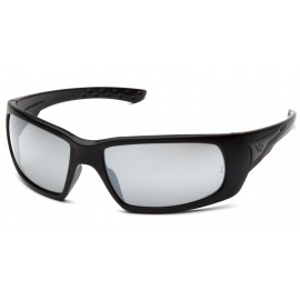 Venture Gear  Montello  Black Frame/Silver Mirror AntiFog Lens  Safety Glasses  1 / EA