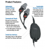 3M Peltor ORA TAC In-Ear Tactical Communications Headset - ORA-BASE-BB2