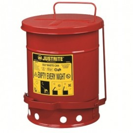 Red Oily Waste Can - 6 Gallon