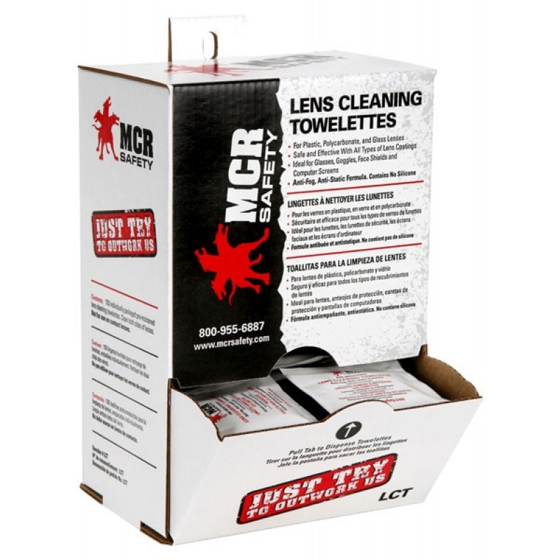 MCR LCT Lens Cleaning - Spec Saver Towelette (10 boxes per case, 100 wipes per box)