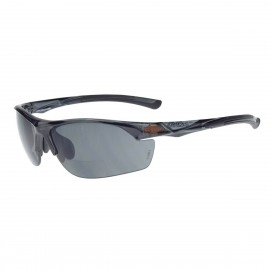 Radians AR3 Reader 2.0 Super Dark Smoke Black Safety Glasses Frameless Black 12 PR/Box