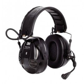 3M Peltor WS 100 Communications Headset, MT16H21FWS5UM580, NRR 20, Black