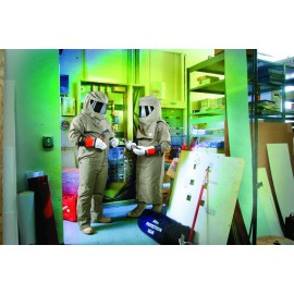 Chicago Protective Apparel Arc Flash Bib Overall SWB-74