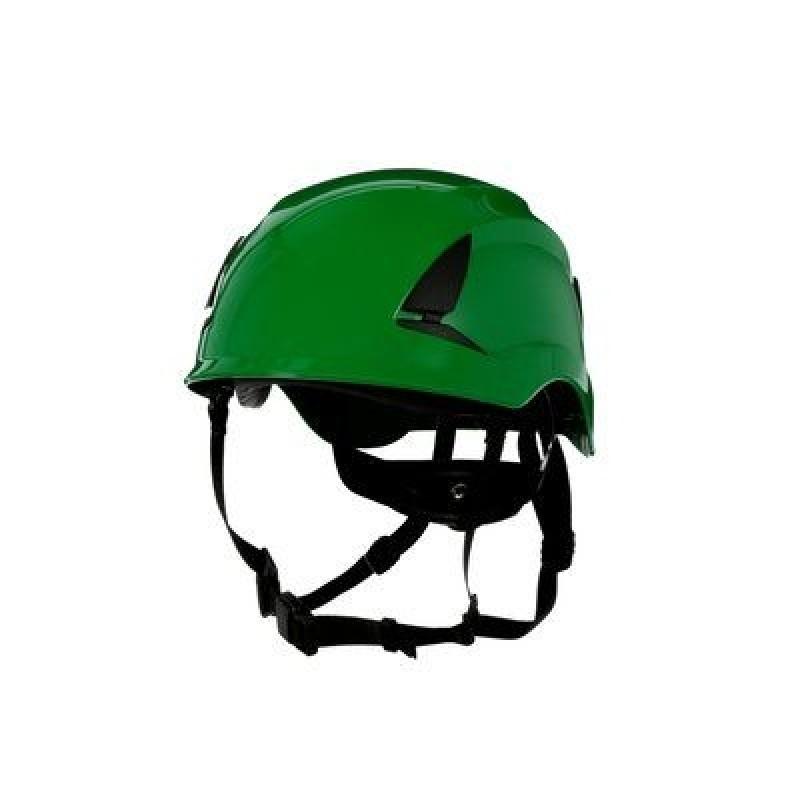 3M™ SecureFit™ Safety Helmet, X5004-ANSI,  Green (Case of 10)