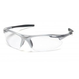 Pyramex  Avante  Silver Frame/Clear Lens  Safety Glasses  12/BX