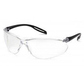 Pyramex  Neshoba  Black Temples/ Clear H2X AntiFog Lens  Safety Glasses  12/BX