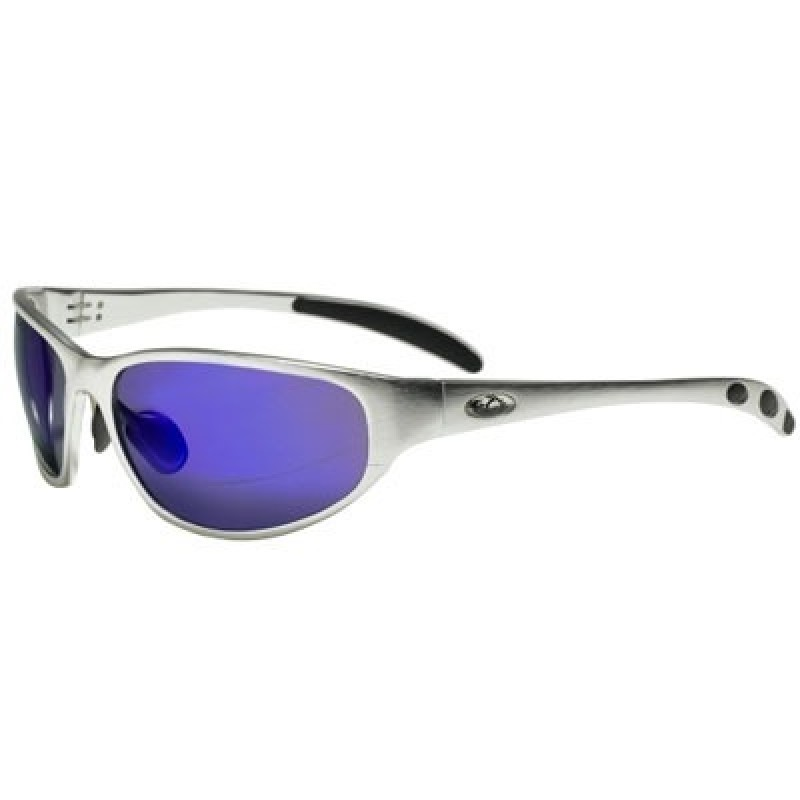 Glasses Frame And Lens : OCC302 Safety Glasses with 1236 Aluminum Frame and Blue ...