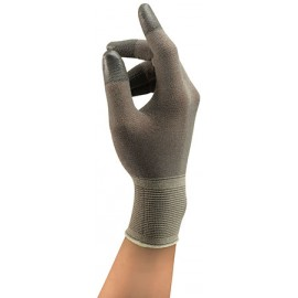 Ansell HyFlex Gloves Polyurethane Material Gray Color - 144 / Case