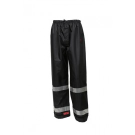 Tingley P24123.MD Icon Pants Black Silver Reflective Tape