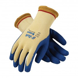 PIP 09-K1300/M G-Tek Seamless Knit Kevlar® Glove with Latex Coated Crinkle Grip on Palm & Fingers Medium 6 DZ